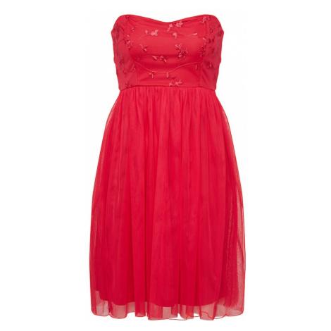 ONLY Sukienka koktajlowa 'onlJUHLIA' jasnoczerwony