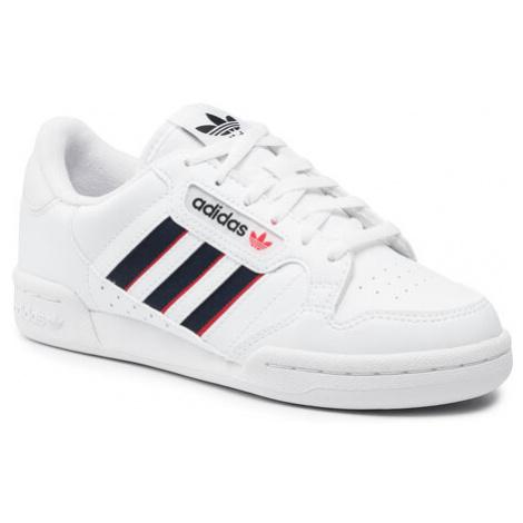 Adidas Buty Continental 80 Stripes J FX6088 Biały