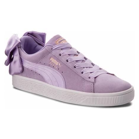 Sneakersy PUMA - Suede Bow Jr 367316 03 Purple Rose/Purple Rose
