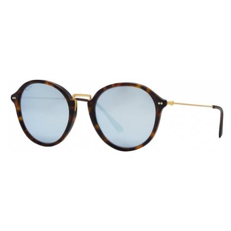 Kapten & Son Okulary przeciwsłoneczne 'Maui' niebieski / brązowy