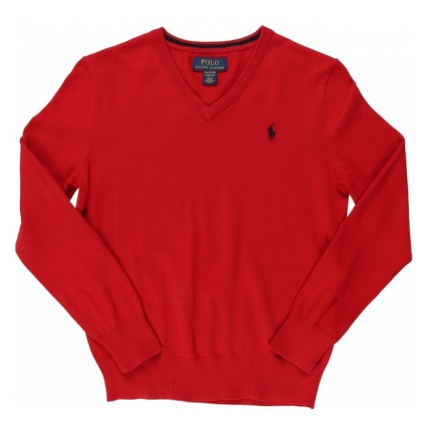 POLO RALPH LAUREN Sweter czerwony