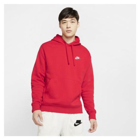Bluza z kapturem Nike Sportswear Club Fleece - Czerwony