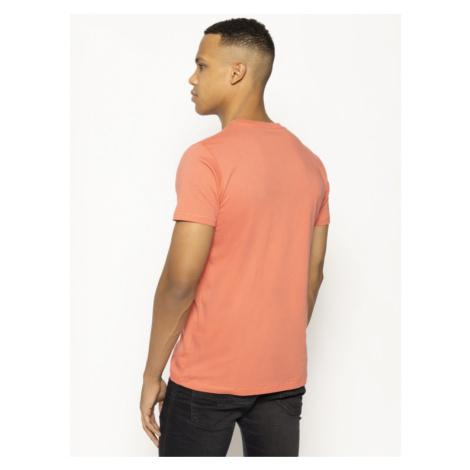 Pepe Jeans T-Shirt Sampson PM507179 Różowy Regular Fit