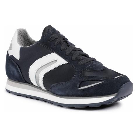 Sneakersy GEOX - U Vittoriale A U04AEA 02211 C4211 Navy/White