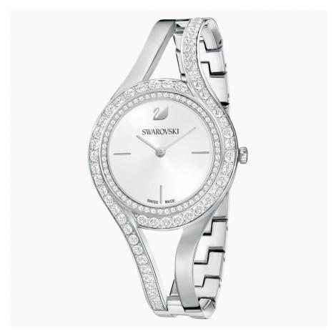 Zegarek Eternal, bransoleta z metalu, biały, stal nierdzewna Swarovski