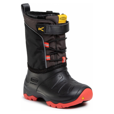 Śniegowce KEEN - Lumi Boot Wp 1021972 Bright Red/Black