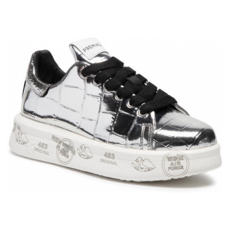 Premiata Sneakersy Belle 4900 Srebrny