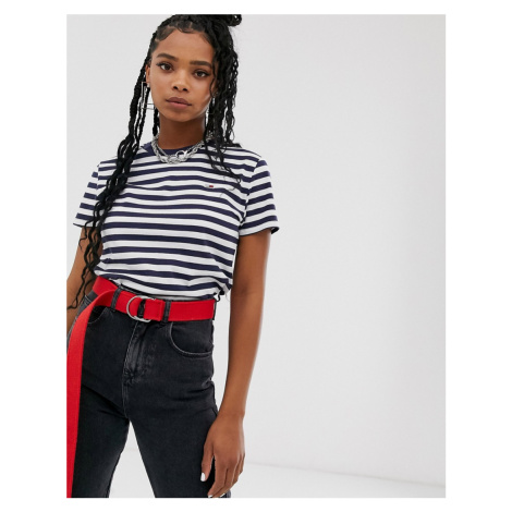 Tommy Jeans organic cotton classic stripe tee Tommy Hilfiger
