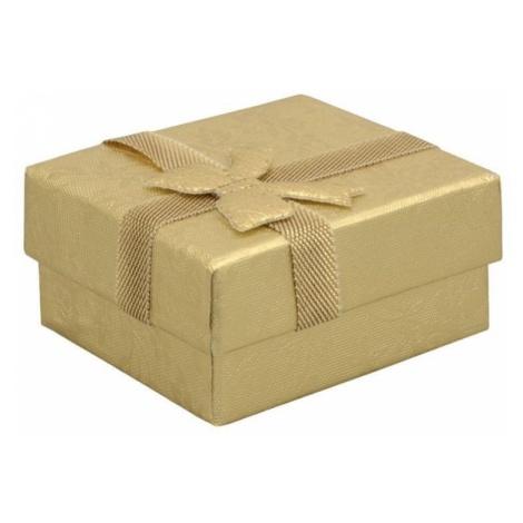 Jan KOS szkatułce na kolczyki w złotym RZ-1 / AU