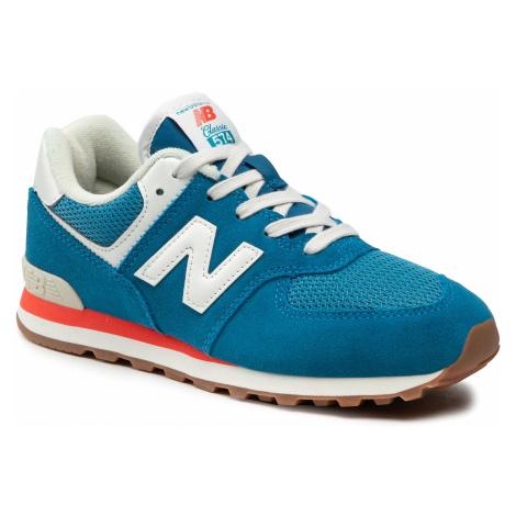 Sneakersy NEW BALANCE - GC574HC2 Niebieski