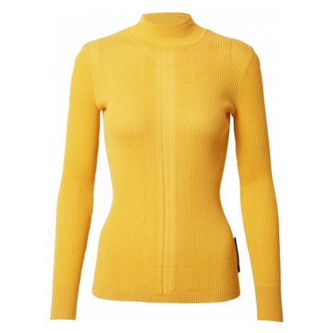 PATRIZIA PEPE Sweter 'Maglia' żółty