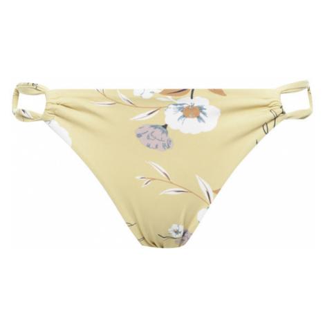 Roxy Dół od bikini Lahaina Bay ERJX403888 Żółty