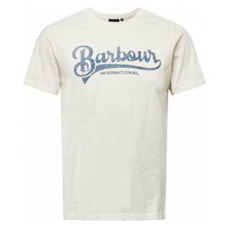 Barbour International Koszulka 'Understeer' jasnoniebieski / biały