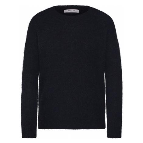 MOSS COPENHAGEN Sweter 'Femme Alpaca' czarny