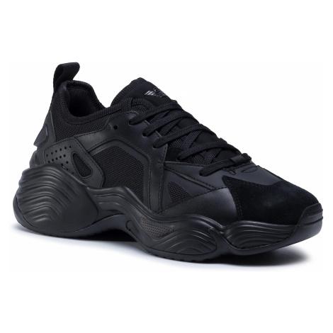 Sneakersy EMPORIO ARMANI - X4X286 XM502 C026 Blk/Blk/Blk/Blk/Blk
