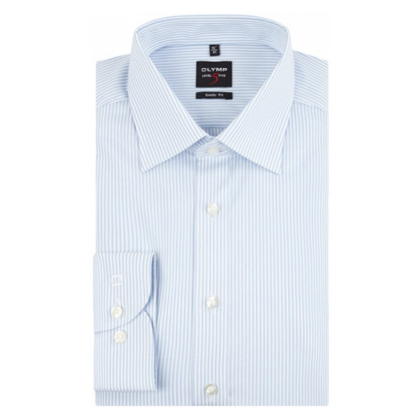 Koszula biznesowa o kroju Slim Fit z bawełny OLYMP Level Five