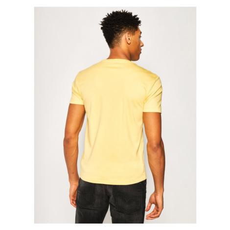 Polo Ralph Lauren T-Shirt Classics 710740727 Żółty Custom Slim Fit