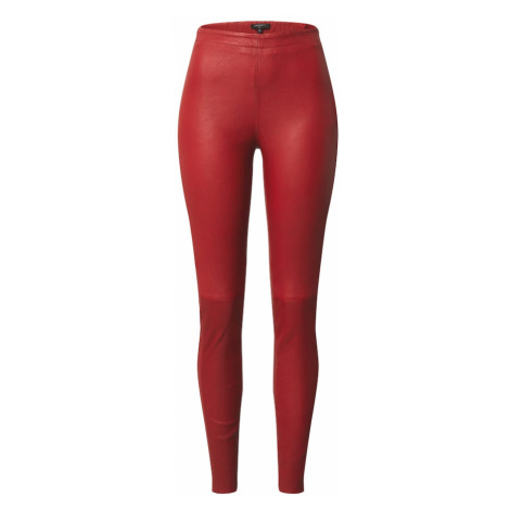 BE EDGY Spodnie 'Sasi' czerwony