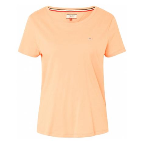 Tommy Jeans Koszulka pomarańczowy Tommy Hilfiger