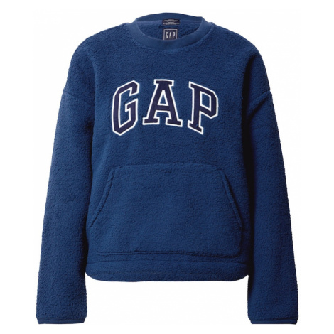 GAP Bluzka sportowa ciemny niebieski / biały