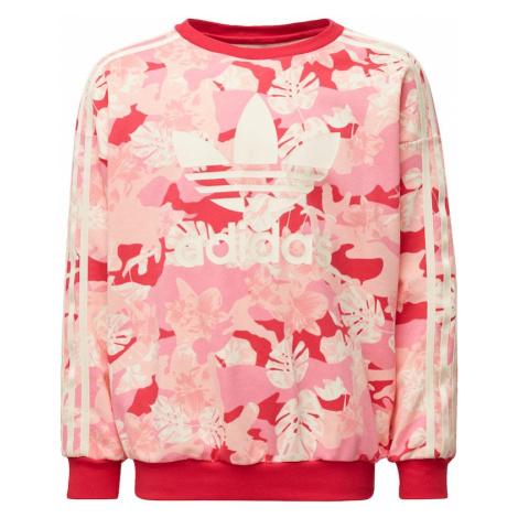 ADIDAS ORIGINALS Bluza kremowy / różowy pudrowy