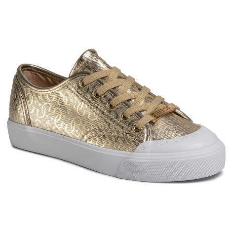 Sneakersy GUESS - Gitney3 FL6GI3 FAL12 GOLD