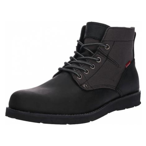LEVI'S Buty sznurowane 'Jax' czarny Levi´s