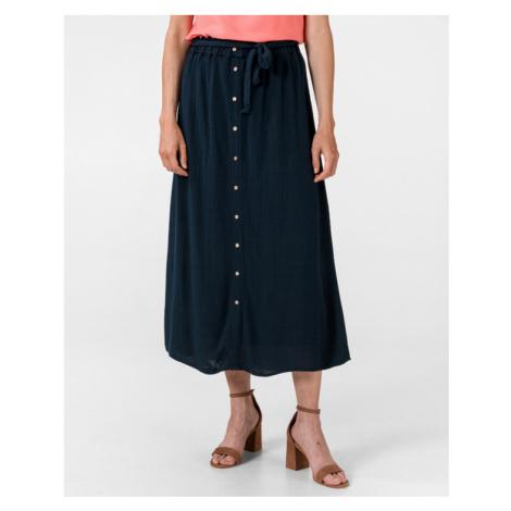 Vero Moda Naomi Paperbag Spódnica Niebieski