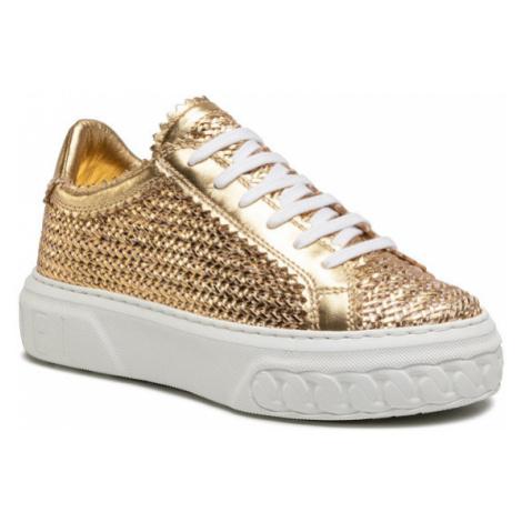 Casadei Sneakersy 2X822P0201HANOI1400 Złoty