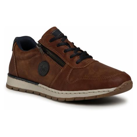 Sneakersy RIEKER - B2114-24 Braun