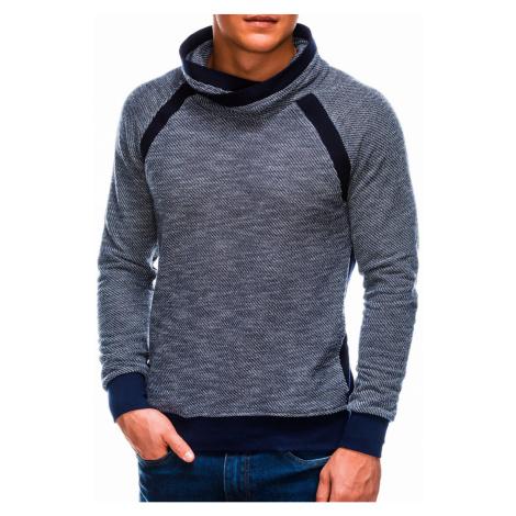 Ombre Clothing Men's stand-up collar sweatshirt B678