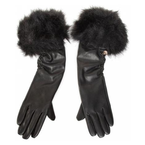 Guess Rękawiczki Damskie Not Coordinated Gloves AW8536 POL02 Czarny