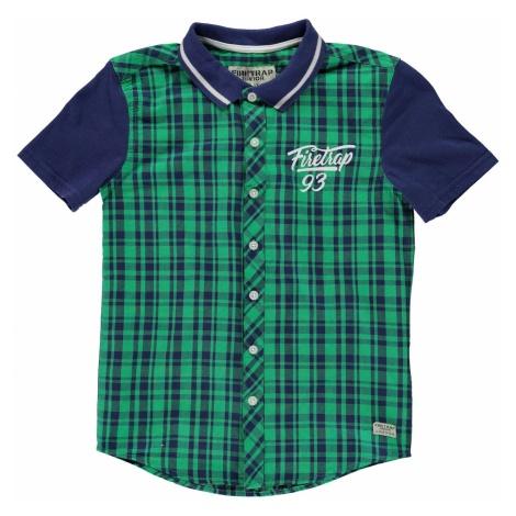 Firetrap Check Shirt Jn83