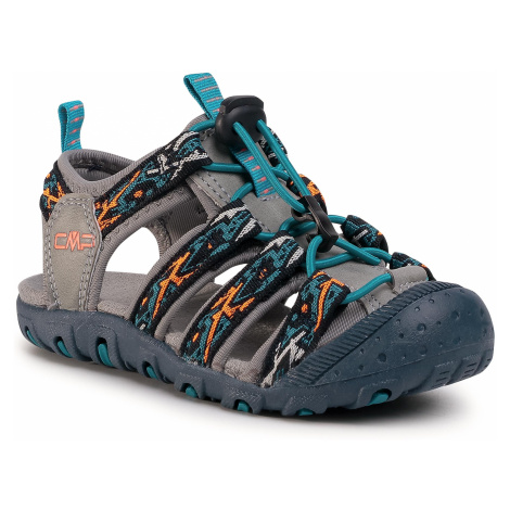 Sandały CMP - Sahiph hiking Sandal 30Q9524 Anthracite/Cemento 46UE