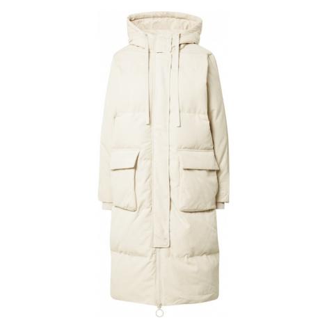 GAP Płaszcz zimowy kremowy