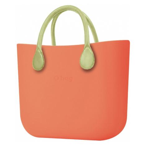 O bag torebka Papaya z krótkimi uchwytami limonkowymi
