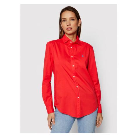 Polo Ralph Lauren Koszula 211827692001 Czerwony Relaxed Fit