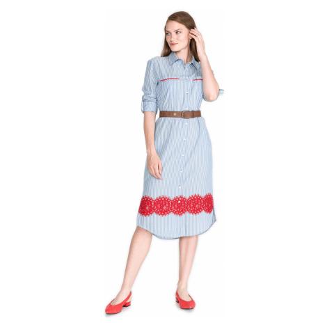Pinko Fesa Sukienka Niebieski
