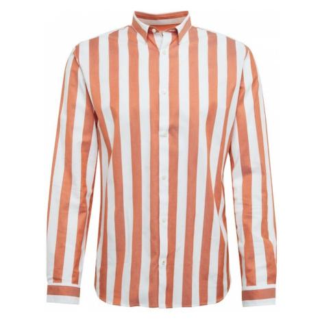 JACK & JONES Koszula 'Jprcharlton' rdzawoczerwony / biały