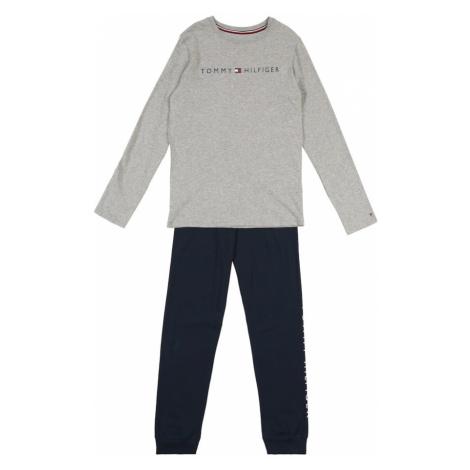 Tommy Hilfiger Underwear Piżama granatowy / szary / czerwony / biały