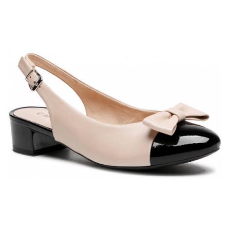 Caprice Sandały 9-29501-26 Beżowy