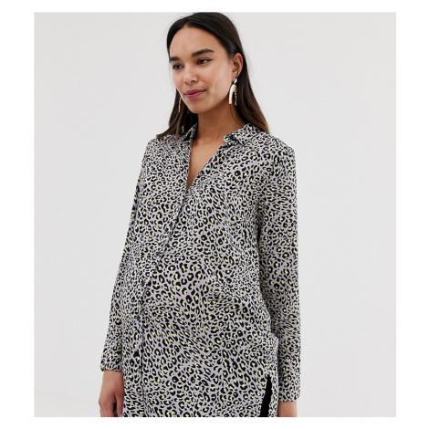 New Look Maternity shirt in animal print