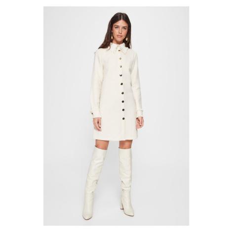 Trendyol Ecru Button Jacket Dress