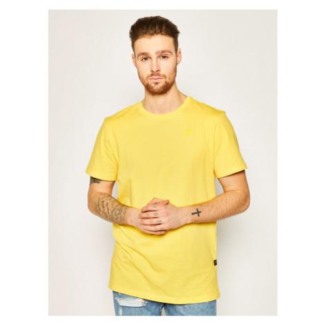 G-Star RAW T-Shirt Base-S D16411-336-6484 Żółty Regular Fit