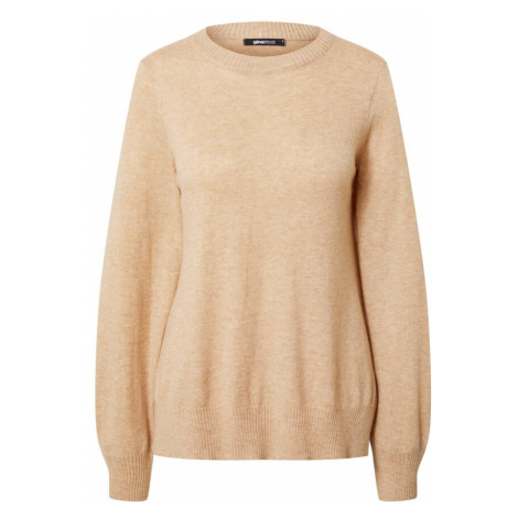 Gina Tricot Sweter 'Asta' beżowy