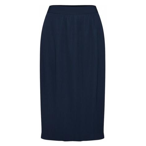 SELECTED FEMME Spódnica ciemny niebieski