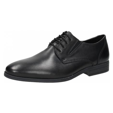 RIEKER Buty sznurowane czarny