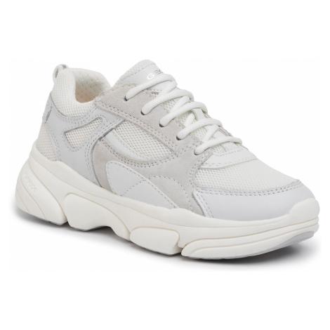 Sneakersy GEOX - J Lunare G. D J02BGD 08514 C1000 M White