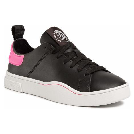 Sneakersy DIESEL - S-Clever Ls W Y01985 P3144 H1143 Black/Pink Fluo