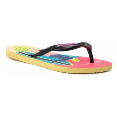 Havaianas Japonki Slim Style Mix Fc 41457397598 Czarny